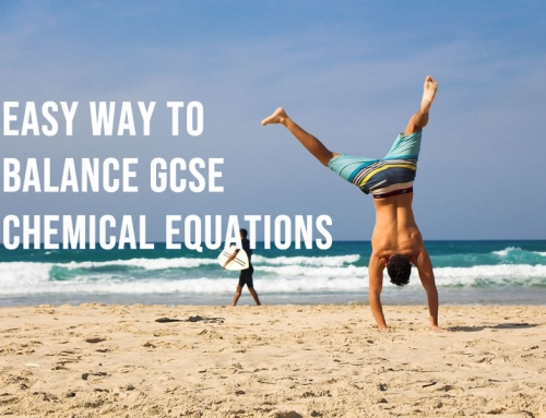 Easy way to balance chemical equations for GCSE
